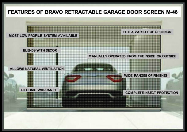Garage Door Screen